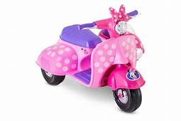 Minnie Mouse Happy Helpers Scooter With Side Car – Kid Trax