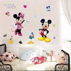 Mickey And Minnie Wall Stickers