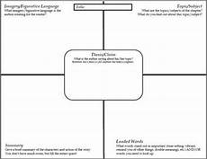 literary analysis template short story non fiction fiction chapters