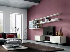 wandfarbe bordeaux rot pink wall interior design ideas ofdesign