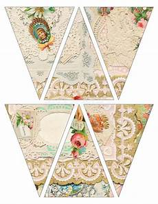 s day printable bunting 20505 diy printable vintage style banner bunting garland flags with collaged vintage