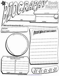 a printable book report poster
