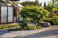 Asiatisch Angehauchter Vorgarten Parc S Gartengestaltung