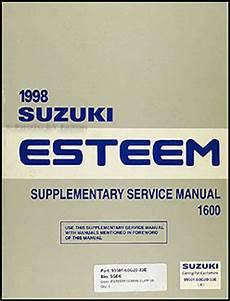 1998 suzuki esteem wiring diagrams 1998 2001 suzuki esteem wiring diagram manual original