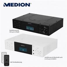 medion 174 stereo unterbauradio mit cd player oder bluetooth