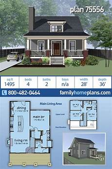 traditional neighborhood design house plans cottage style house plan 75556 with 4 bed 2 bath in 2020
