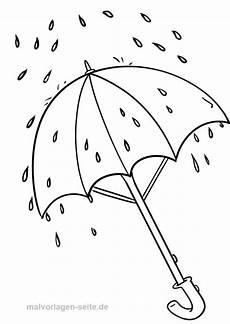 Malvorlagen Zum Ausdrucken Regenschirme Malvorlage Regenschirm Wetter Malvorlagen Ausmalen