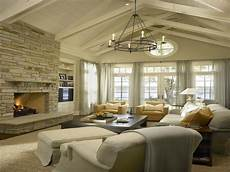 Decorating Ideas For Vaulted Ceiling Living Rooms by Chair Side Tables Living Room Living Room Fireplace