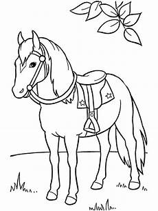 horses coloring pages and print horses coloring