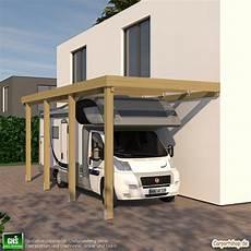 Caravan Anbau Carport Grundkonstruktion 3x7 Typ 280