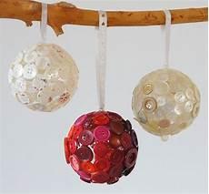 knopfkugeln f 252 r weihnachten weihnachtsdekoration