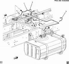 2004 09 Topkick Kodiak T6500 T8500 Dual Tank Fuel Wire