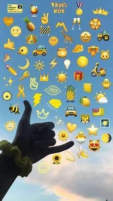 Meaning Iphone Aesthetic Emoji Wallpaper