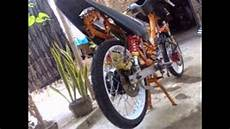 Modifikasi Motor Alfa by Modifikasi Motorplus Modif Trail Motor Bebek Jadul 2tak