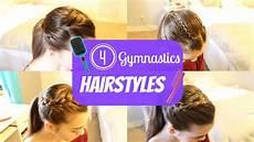 easy gymnastic hairstyles gymnastics hairstyles youtube