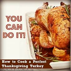 how to cook a perfect thanksgiving turkey one hundred