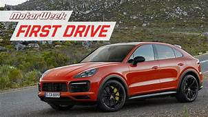 2020 Porsche Cayenne Coupe  MotorWeek First Drive YouTube