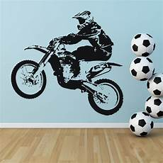 Dirt Bike Wall Stickers