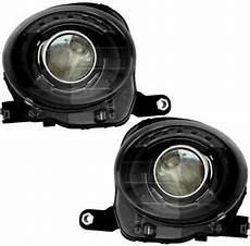 headlights headlight assembly w bulb black trim new pair