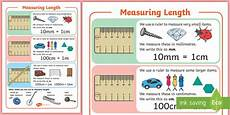 measurement worksheets ks2 tes 1489 ks1 maths measuring length a4 display poster made