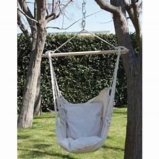 amaca a dondolo amaca sedia a dondolo seduta in cotone amaca da giardino 55516