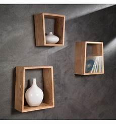costruire una mensola set tre mensole a parete in legno rovere brenda