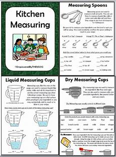 cooking measurement worksheets free 1982 empowered by them kitchen measuring