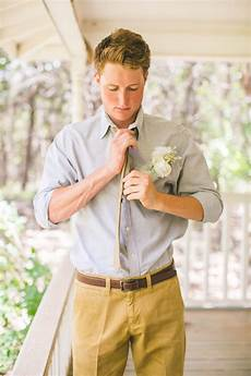 Outdoor Wedding Groom Attire