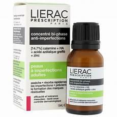 lierac prescription concentre bi phase anti imperfections 15ml