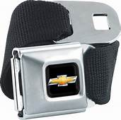 Chevrolet Bowtie Seatbelt Belt ChevyMall