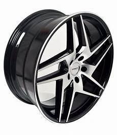 4 gwg wheels 20 inch black razor rims fits 5x112 mercedes