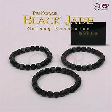 jual the korean black jade gelang kesehatan asli korea di lapak shop channel felixpark
