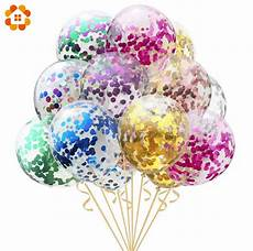 5pcs 12inch 18inch large confetti air balloons
