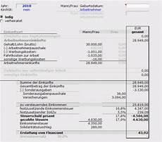 berechnung der einkommensteuer f 252 r arbeitnehmer