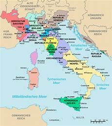 Die Gr 246 223 Ten St 228 Dte In Italien Karte