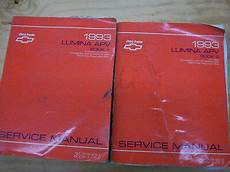 service manuals schematics 1993 chevrolet lumina apv regenerative braking 1993 chevrolet lumina apv book 1 2 service manual ebay