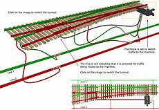 ho track switch wiring turnout motors dccwiki