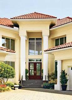 exterior paint colors with red tile roof exterior paint colors for ranch style homes