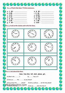time of day worksheets esl 3795 telling the time aulas de ingl 234 s ingles para criancas atividades de ingles