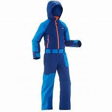 combinaison de ski enfant 500 bleue wedze decathlon