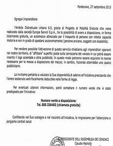 lettere al sindaco come scrivere una lettera al sindaco fac simile galleria
