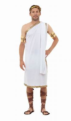 Costume Dieu Grec Hommes C 233 Sar D 233 Guisement Grec Toge De Dieu