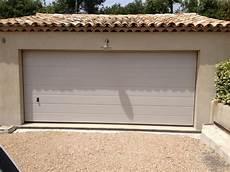 porte de garage sectionnelle motoris 233 e tubauto voiture