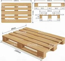 misure pedane epal wooden pallet stock vector more images of business