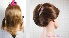 chignon banane cheveux courts twist hairstyle for