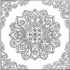 Mandalas Zum Ausdrucken Gratis Malvorlagen Bluetenmandala Ausmalbild Malvorlage Mandalas Zum
