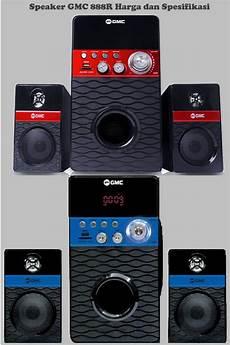harga speaker aktif gmc 888r multimedia fm radio