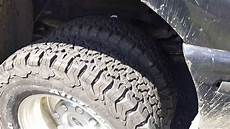 new truck tires bf goodrich all terrain t a ko2