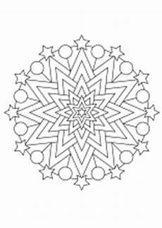 Malvorlagen Weihnachten Mandala Weihnachtsmandala Ausdrucken Ausmalen