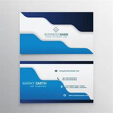 business card template blue blue business card template free vector